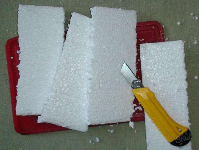 Как резать пенопласт