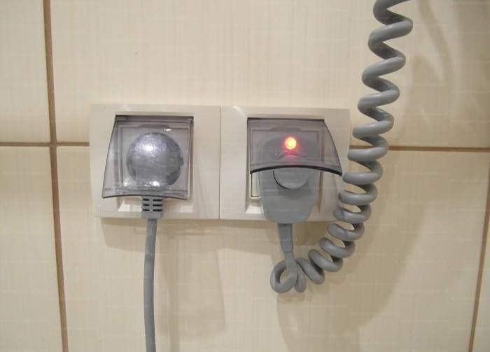 Высота выключателя от пола
