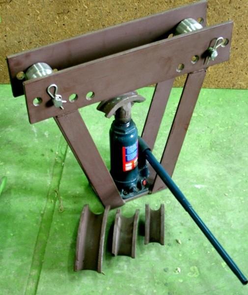Ручной трубогиб для профильной трубы
