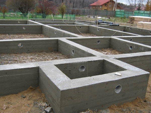 готовый фундамент для строительства бревенчатого дома, ТвойДомСтройСервис.