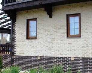 Особенности отделки цоколя и фасада в рубленном доме