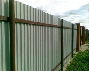 Забор для своего участка