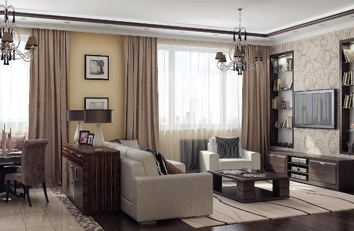 Особенности ремонта гостиной