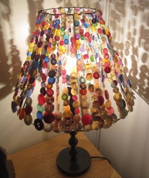 Необычные светильники своими руками