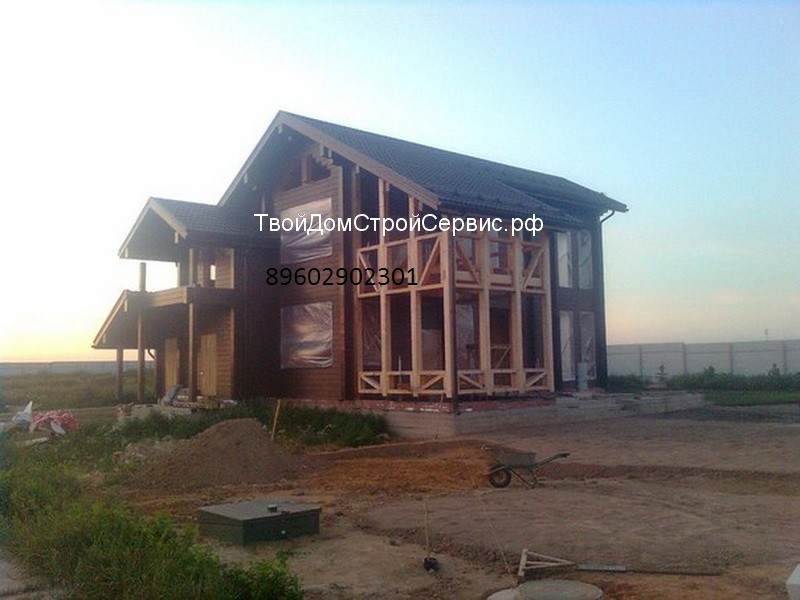 Брус дом строительство ремонт