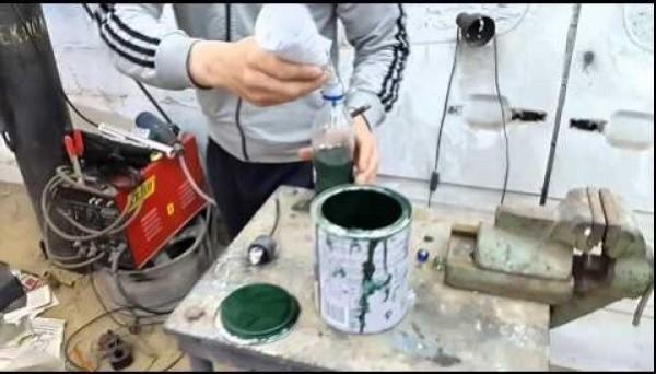 Термостойкая краска по металлу своими руками