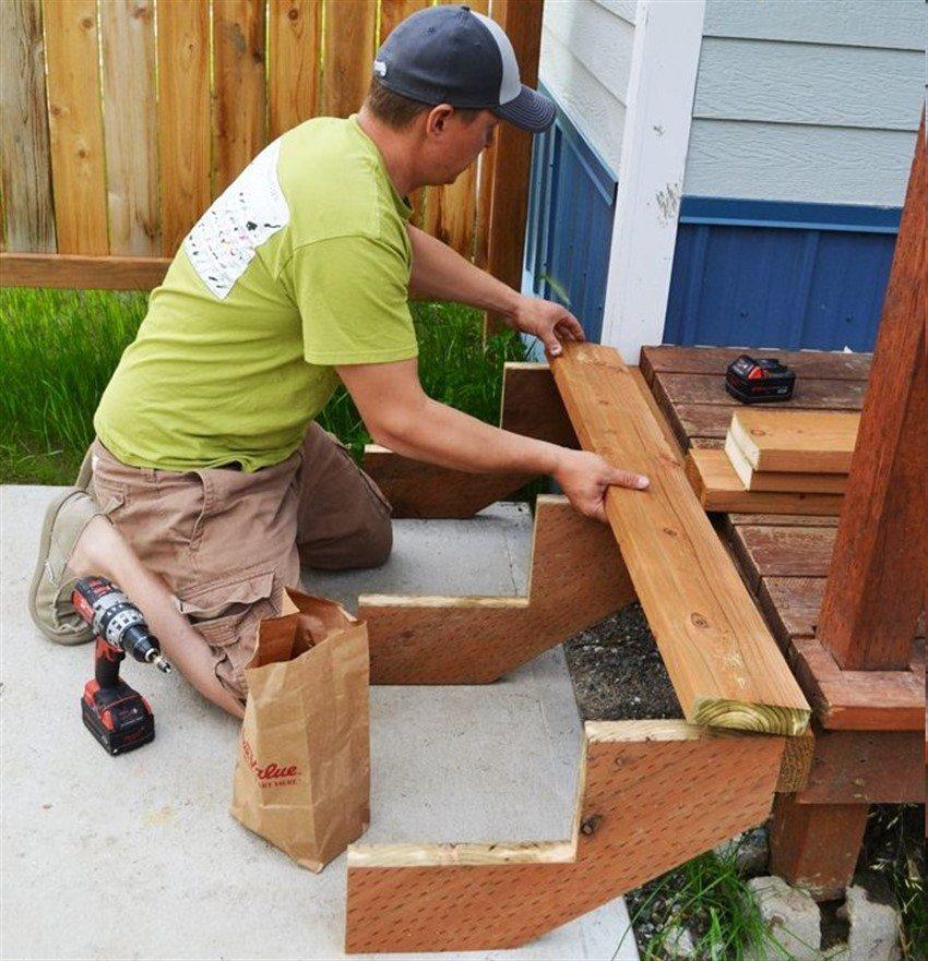 Крыльцо к дому своими руками. Проекты. Фото