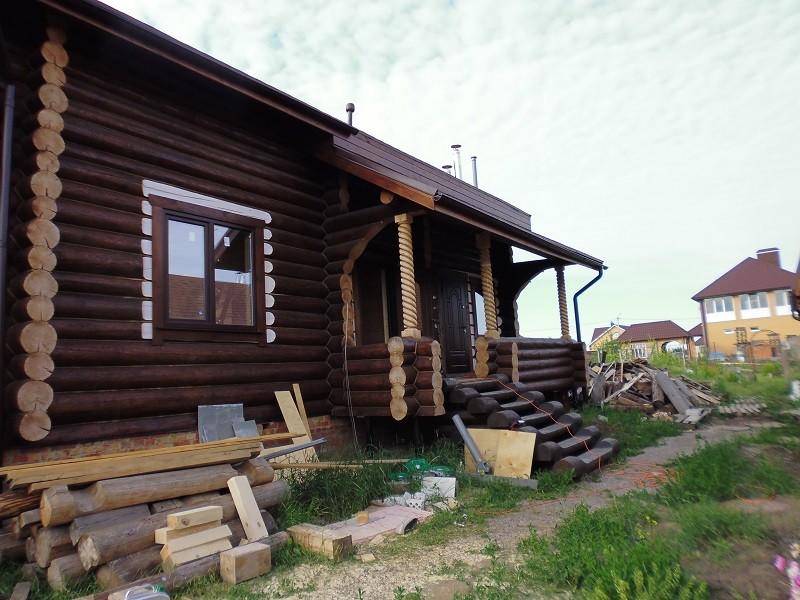 Дома рубленные, строительство в Белгороде