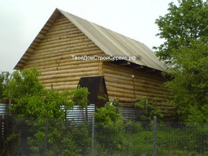 сруб дома 7*9 рубленый в лапу, изготовлен в Вожеге, ТвойДомСтройСервис.