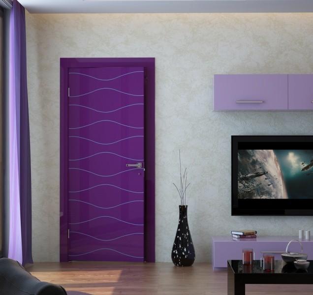 Межкомнатные двери глянцевые