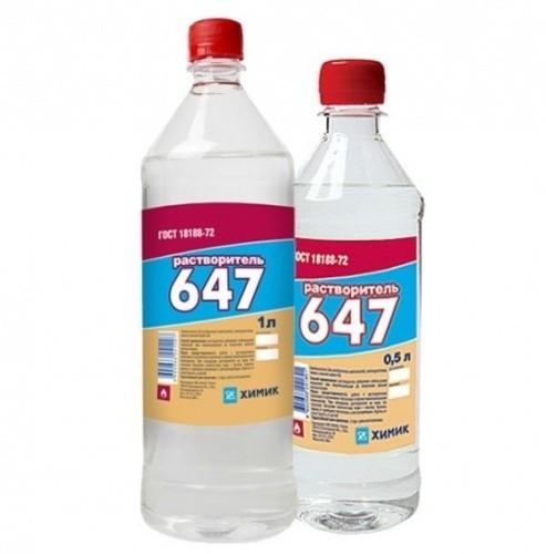 Растворители 646, 647, р 4, технические характеристики, разница между ними