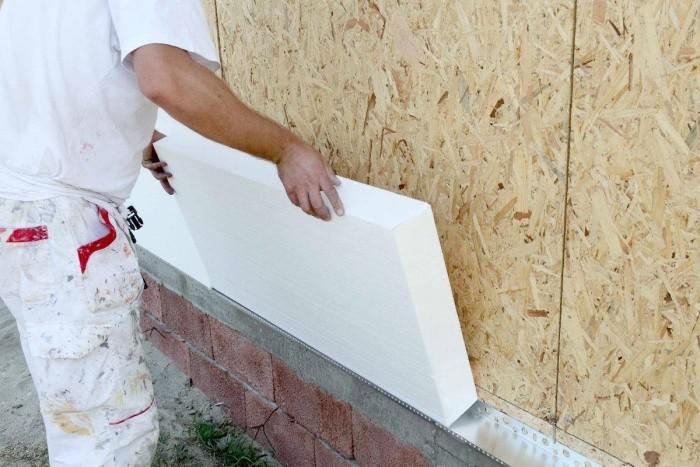 Фасадный утеплитель для наружной отделки дома