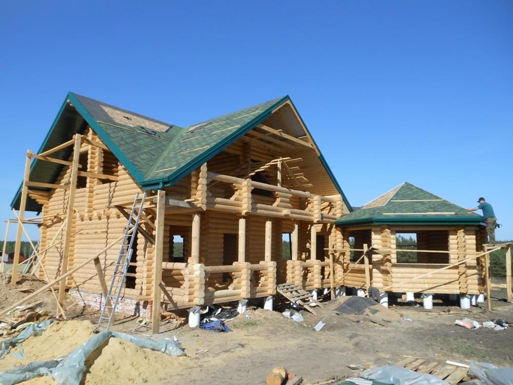 строительство сруба дома в Туле