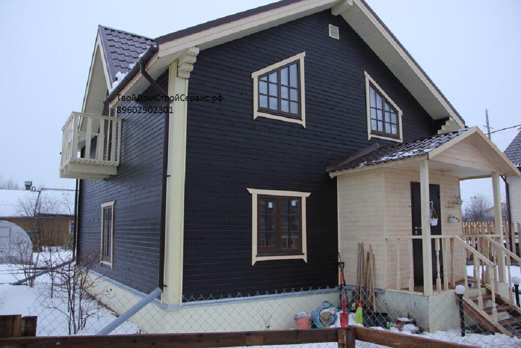 Клееный брус для строительства дома дачи