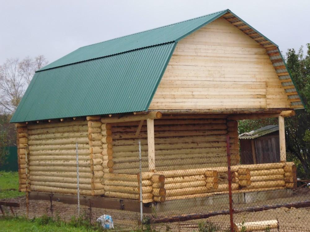 проект дома 6*6+3 метра Вожега
