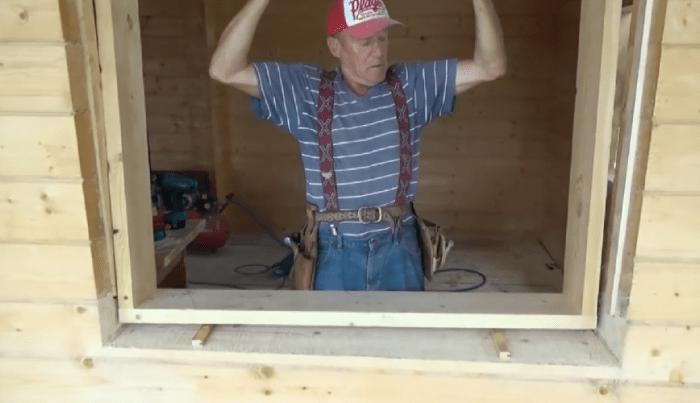 Окосячка для окон в деревянном доме