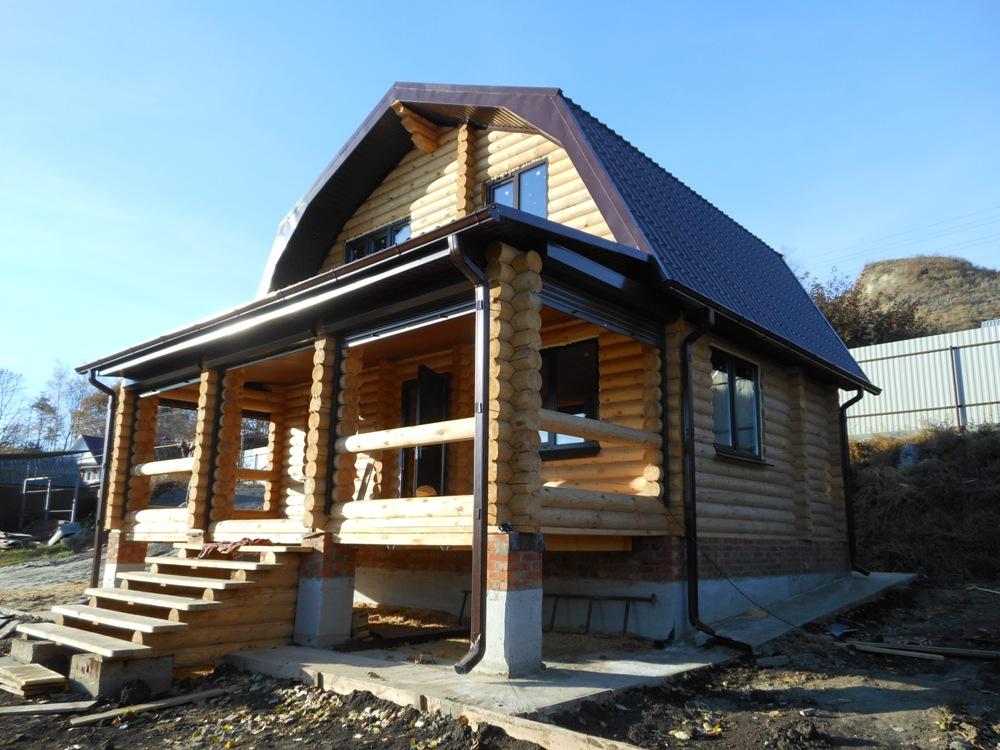 дом из бревна в Туле