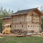История дома из сруба фундамент в старину