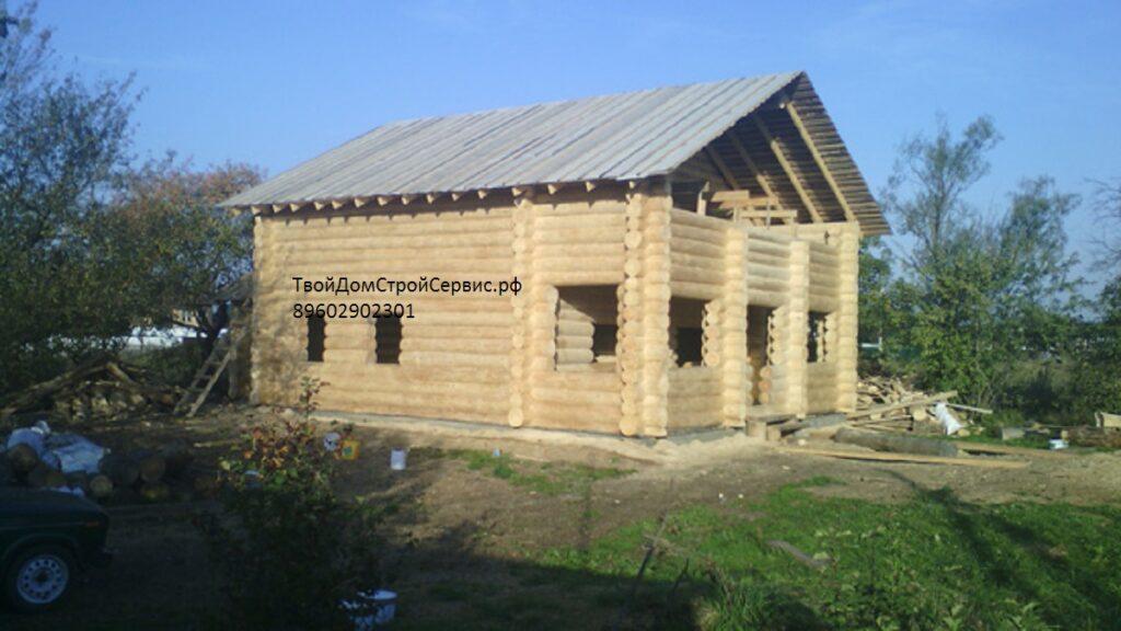 рубленый дом 10*12 метра