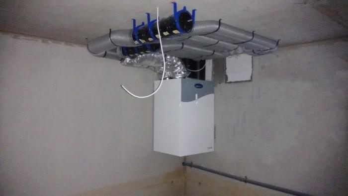 Вентиляция гаража с подвалом + схема