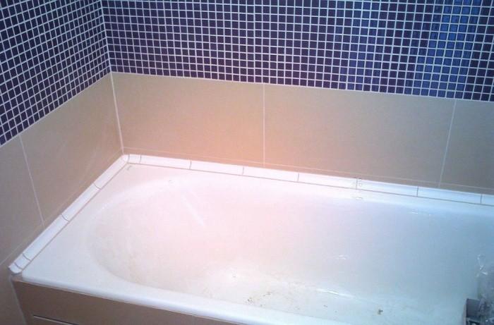Плинтус для ванны