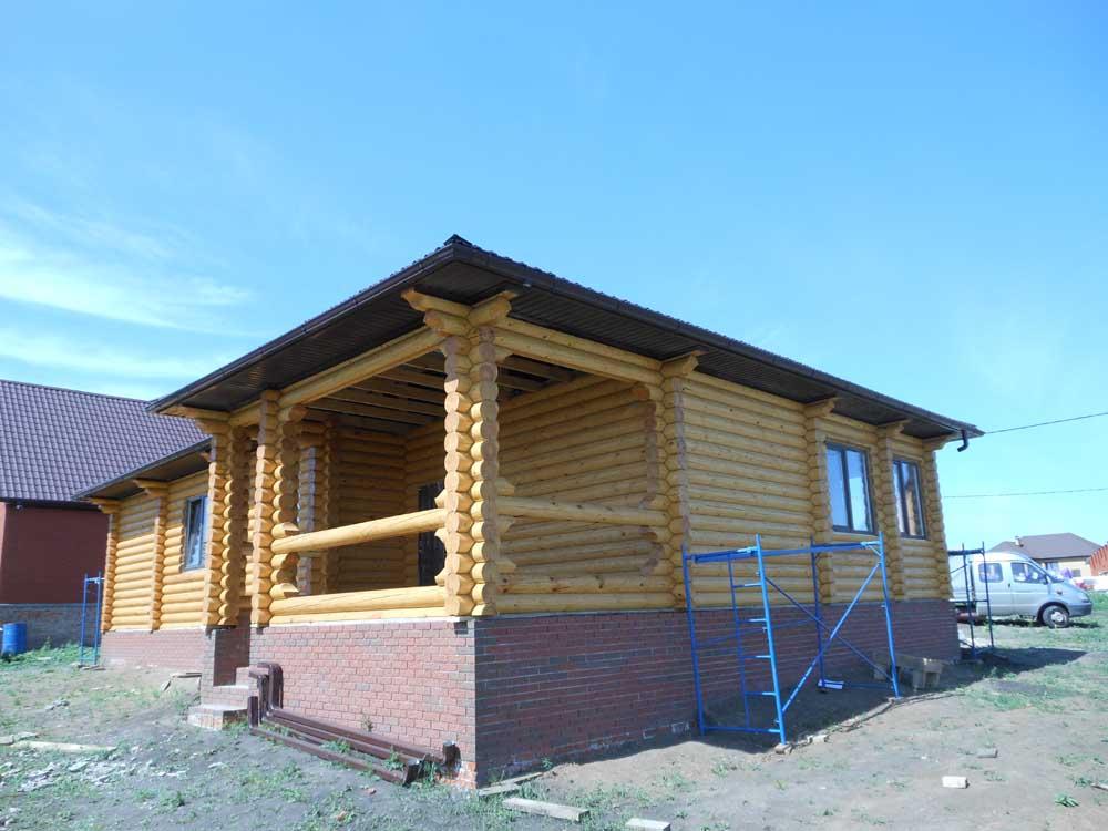 проект бревенчатого дома 11*15 метра,ТвойДомСтройСервис