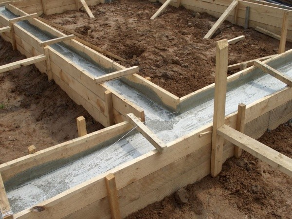 опалубка для фундаментов дома бревенчатого, своими руками, ТвойДомСтройСервис.