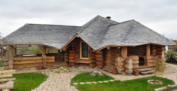 Сруб основа деревянного дома