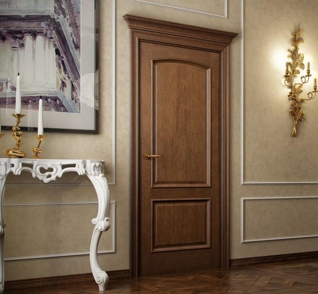Двери межкомнатные шпон натуральный