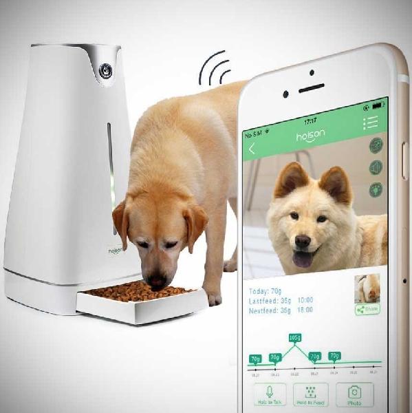 Автоматическая кормушка для собак крупных пород