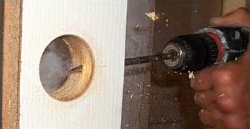 Виды защелок для межкомнатных дверей