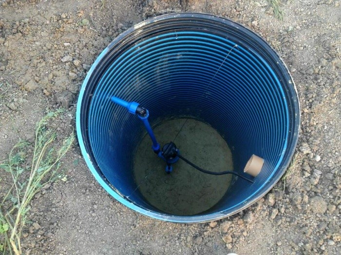 Колодец пластиковый для питьевой воды