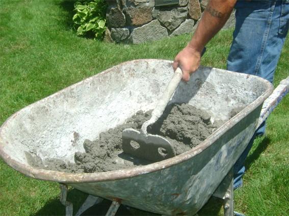 Приготовление бетона вручную пропорции таблица