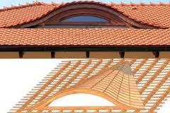 Слуховое окно на крыше