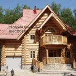 дом со сруба от компании ТвойДомСтройСервис