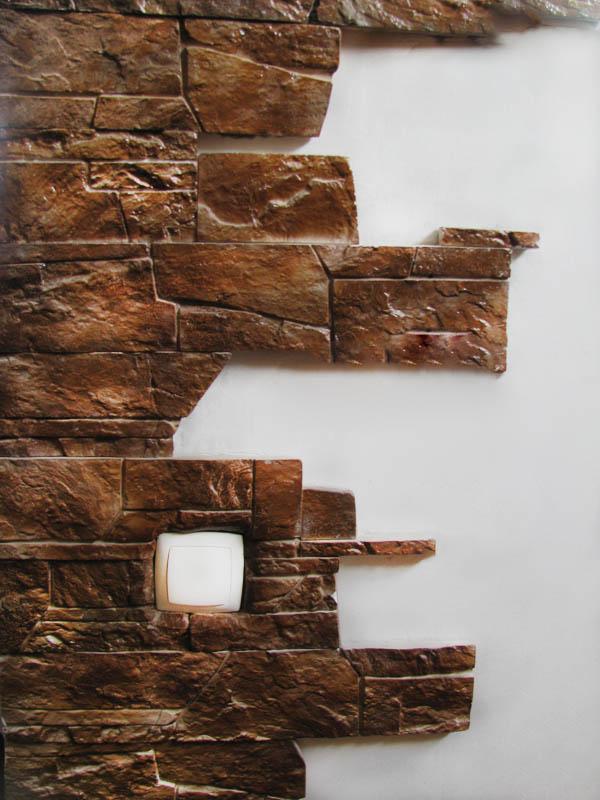 Гипсовый декоративный камень для внутренней отделки