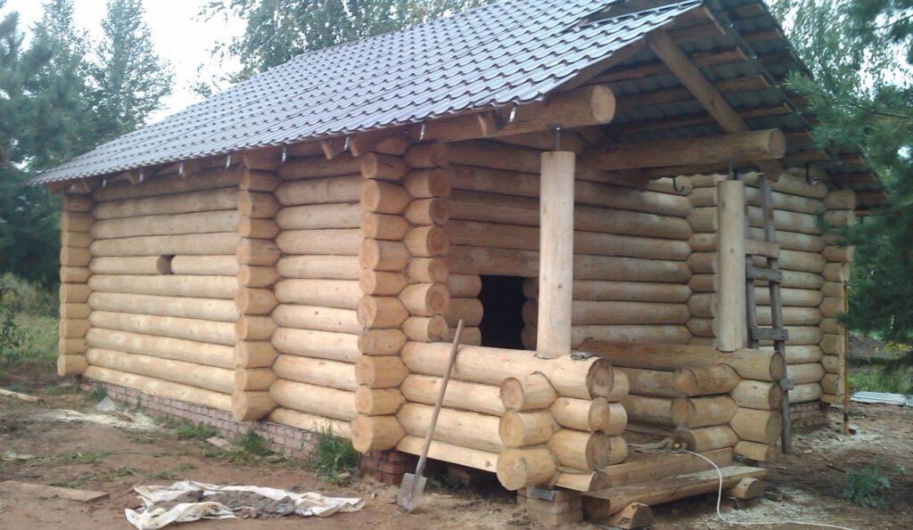 Проект бревенчатого дома Мечта 7х11м