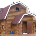 срубовые дома из Вожеги