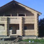 дом из брёвен 8*8 метра Ярославль