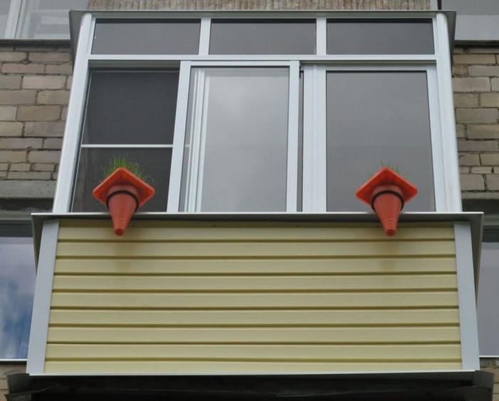 Как сделать обрешетку под сайдинг на балконе