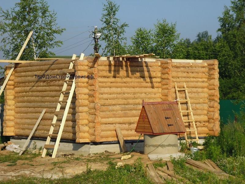 строительство деревянных домов, ТвойДомСтройСервис.