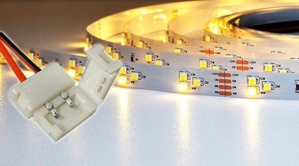 Подключение светодиодной ленты 220 В