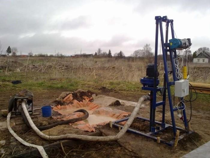 Буровая установка для бурения скважин для воды
