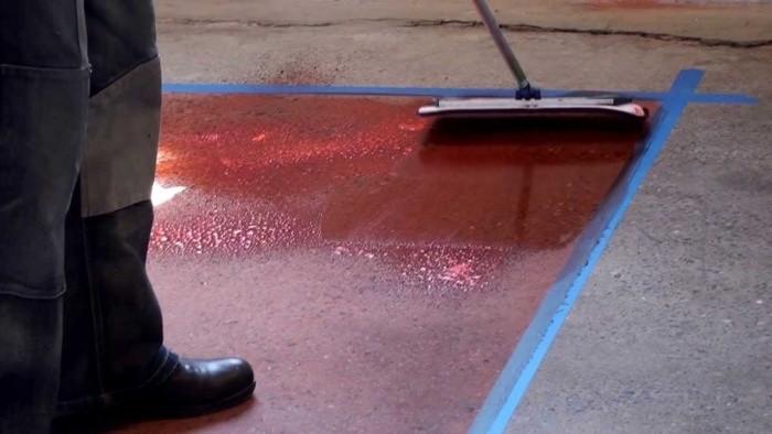 Краска для пола по бетону износостойкая