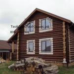 строительство дома из бревна в Белгороде