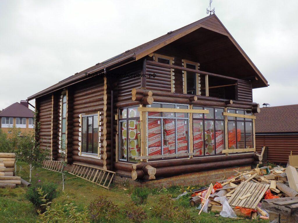 Отделка рубленных домов в Белгороде