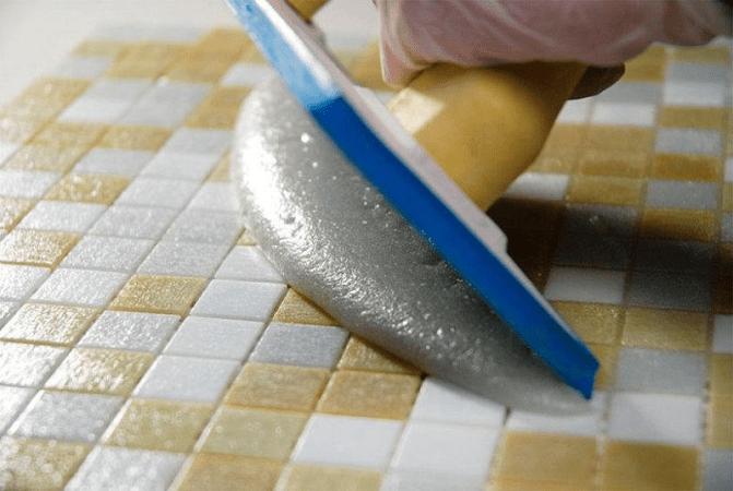 Затирка для швов плитки в ванной