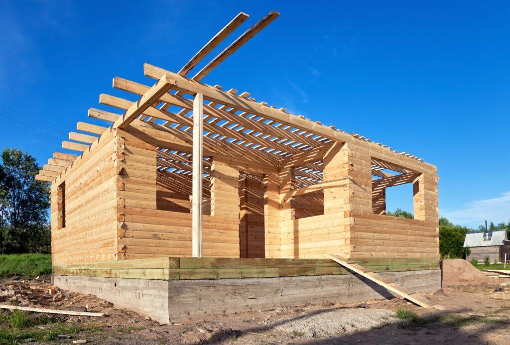 строительство дома своими руками из бруса Вологда, от компании ТвойДомСтройСервис.