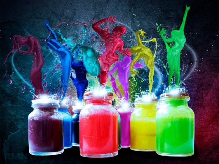 Как сделать светящуюся краску