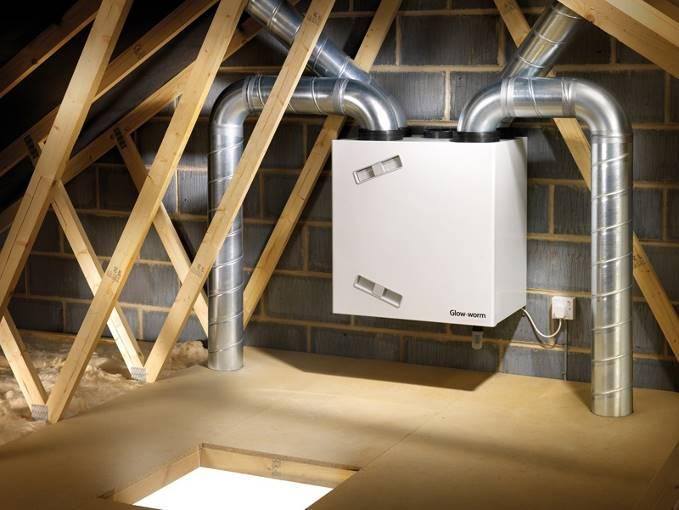 Приточно-вытяжной вентилятор